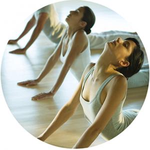 Group class yoga Leicester